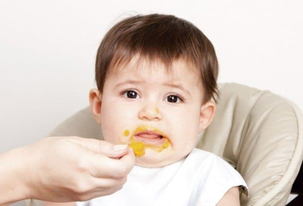 Baby Starting Solid Foods