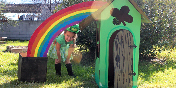 Lucky Little Leprechaun House