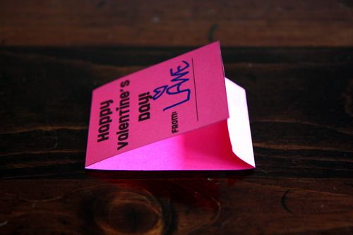 folded valentine matchbox printable