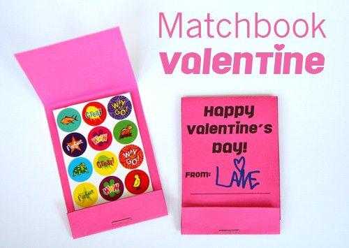 Matchbook Valentine