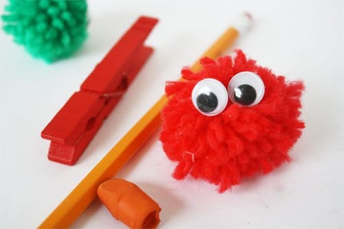 Easy Valentine's Day Craft:  Warm Fuzzies!