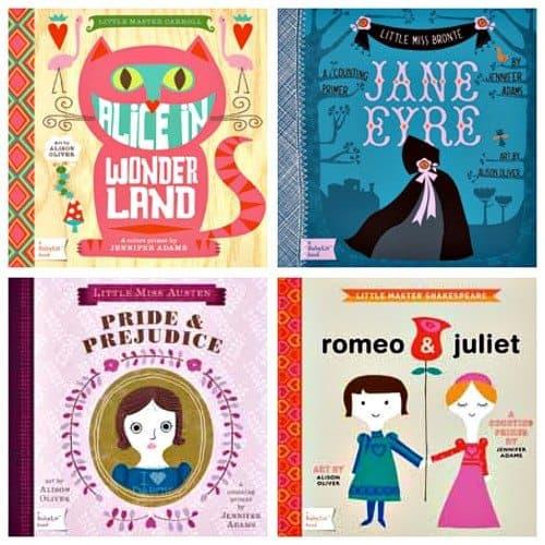 Must List: Baby Literature Board Books