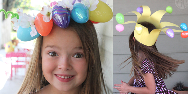 DIY Easter Egg Crowns!