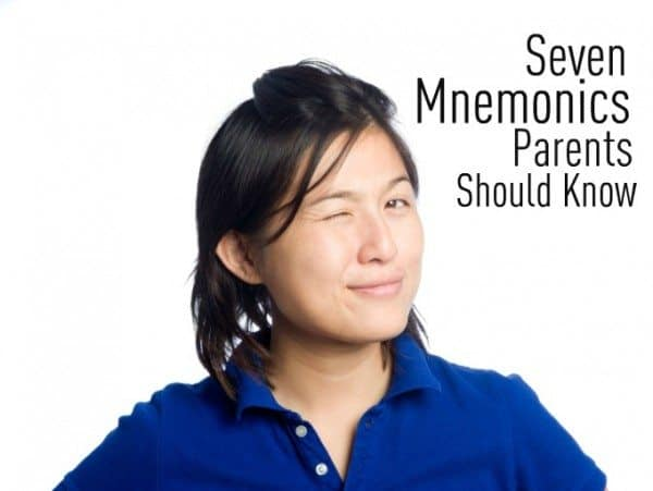 7 Mnemonics Every Parent Should Know