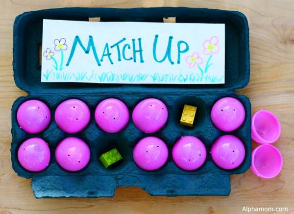 Make a Match-Up Game with Easter Eggs