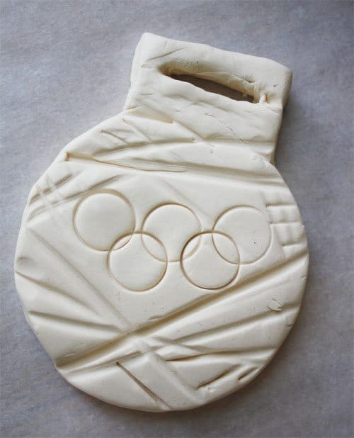 Clay Olympic Gold Medal