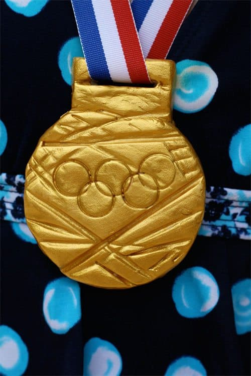 DIY Olympic Gold Medal Craft