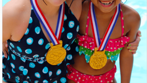 DIY Olympic Gold Medals