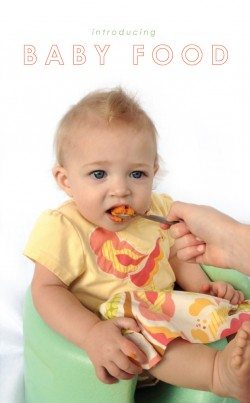 Introducing Baby Food Solids and Purees