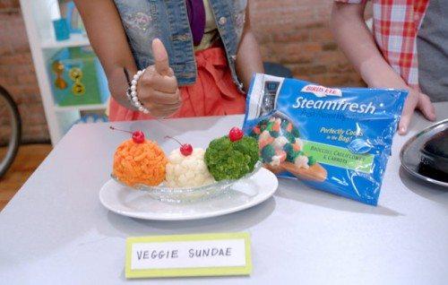 icook icarly recipe contest veggie sundae