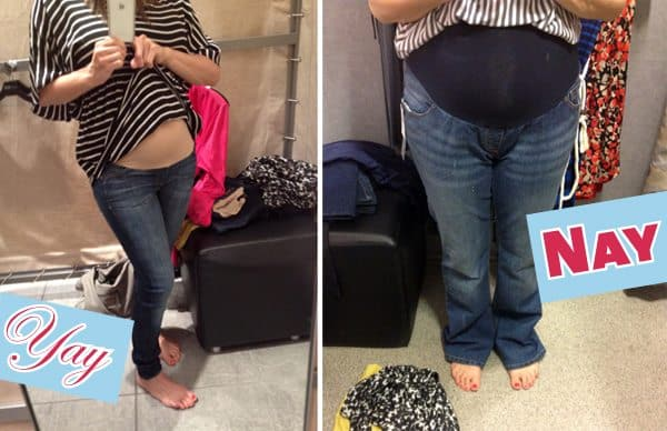 Maternity Jeans Reviewed: The Yay to the Nay
