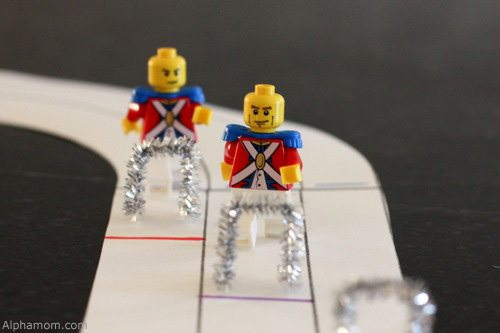 Lego figures as Olympians