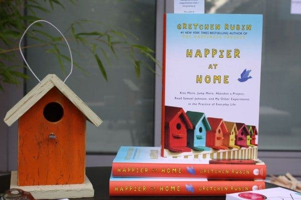 """Alpha Mom Must List: Read """"Happier at Home"""""""