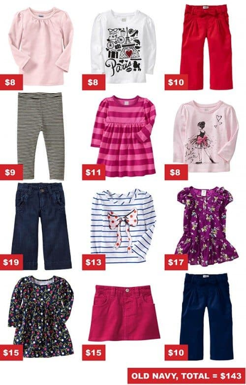 back to school toddler clothes shopping