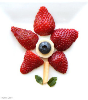 Craft and Snack: Easy Fruit Art