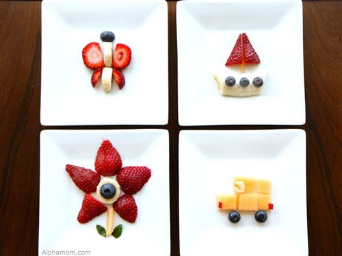 Craft And Snack Easy Fruit Art Alpha Mom