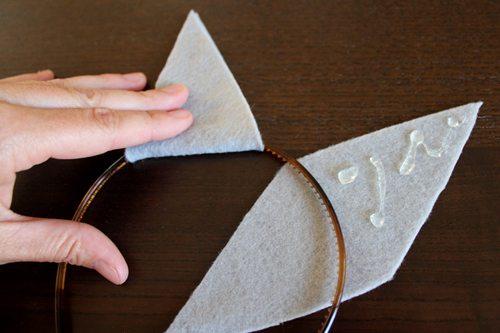 Halloween Headbands: Easiest DIY Costume Idea Ever (step 4) by Brenda Ponnay for Alphamom.com