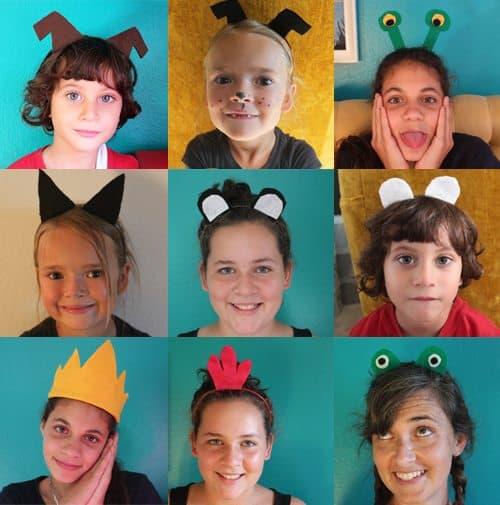 """Halloween Headbands: Easiest DIY Costume Idea Ever (variety) by Brenda Ponnay for Alphamom.com"