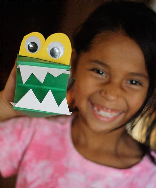 Monster Puppets for Halloween by Cindy Hopper for Alphamom.com