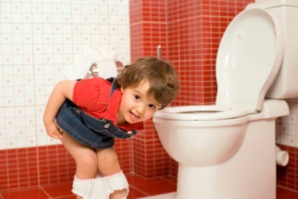 Potty Training In the Real World