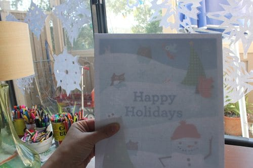 Advent Calendar Printable Tutorial