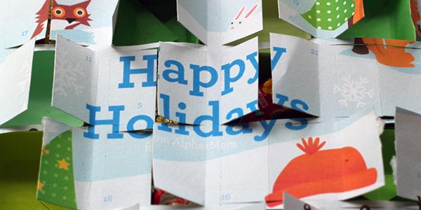 Advent Calendar Printable!