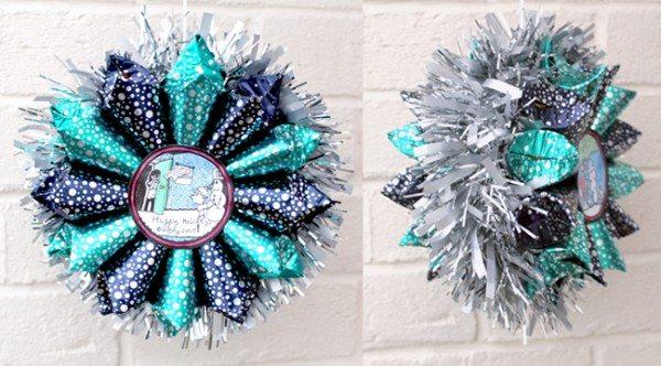 Diy Advent Calendar Wreath : Diy treat advent calendar wreath alpha mom