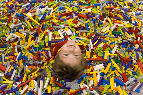 introducing Legos to your child