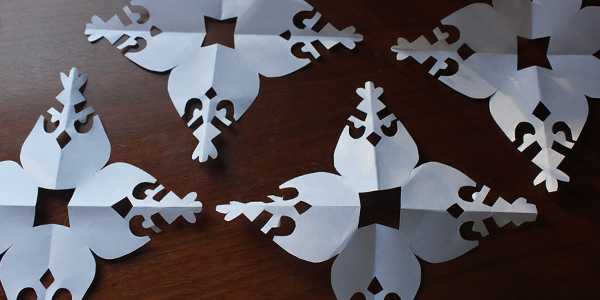 Angry Birds Snowflakes for Sandy Hook