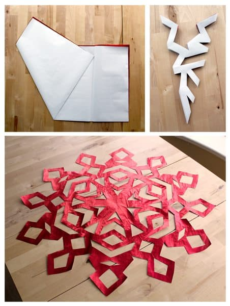 How to Make a Paper Snowflake Tutorial
