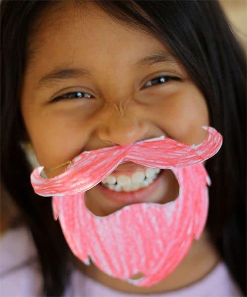 Leprechaun Beard Printable