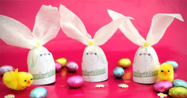 Easter Bunny Wrappers for Your Cadbury Creme Eggs