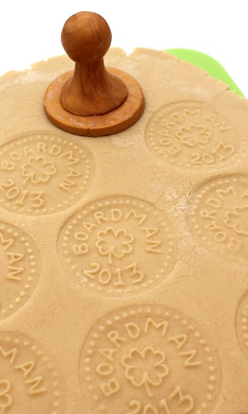 custom cookie stamping tutorial