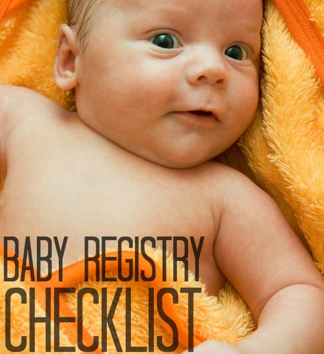 Our Ultimate Baby Registry Checklist