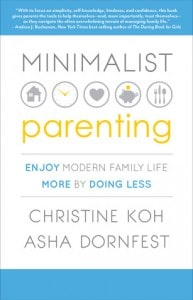 Minimalist Parenting Book discussion