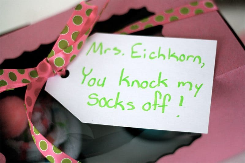 you knock my socks off