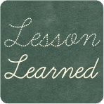 Alpha Mom Lesson Learned