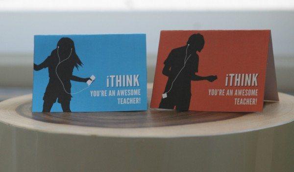 Teacher Appreciation Gift: iTunes Gift Cards
