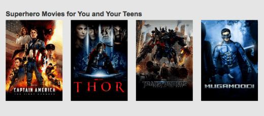 Netflix Families Stream Team