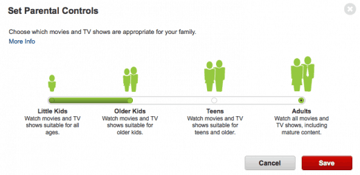 Netflix Stream Team Setting Parental Controls