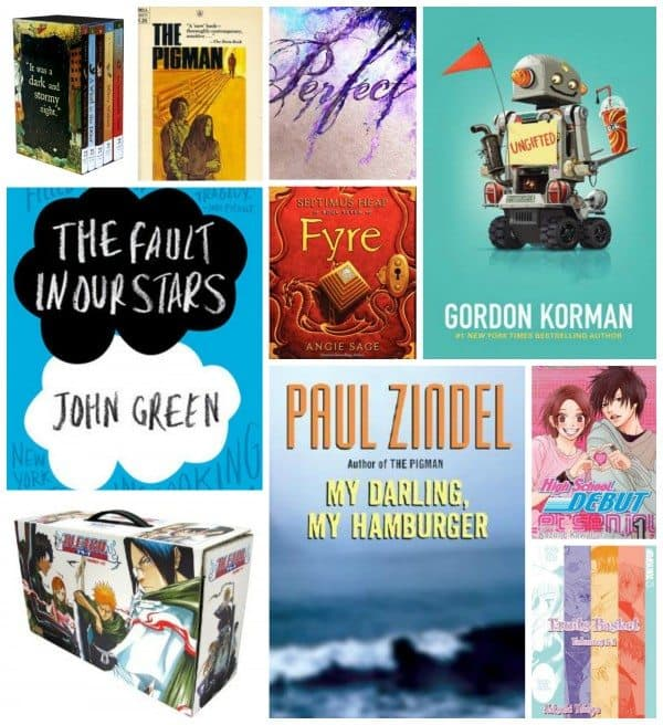List Of Teen Novels 12