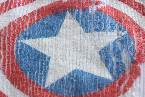 Easy Superhero Tank Tops for Halloween by Brenda Ponnay for Alphamom.com