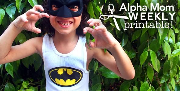 Easy Superhero Tank Tops for Halloween