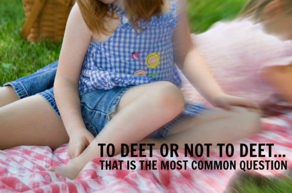 Bug Repellents for Kids: What Should I Be Thinking About?