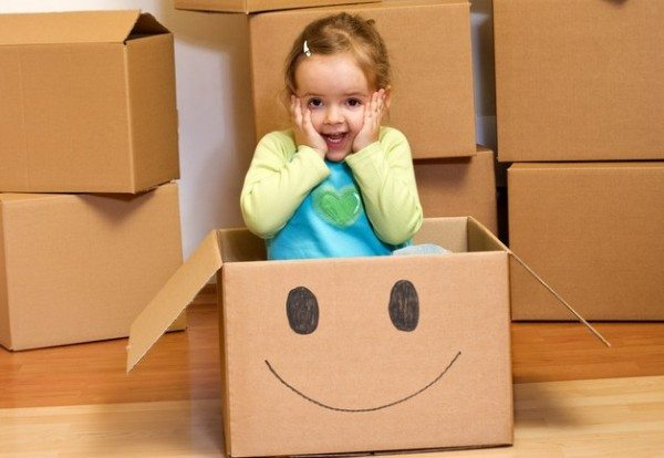Ten Steps To Make Moving with Kids Much Easier