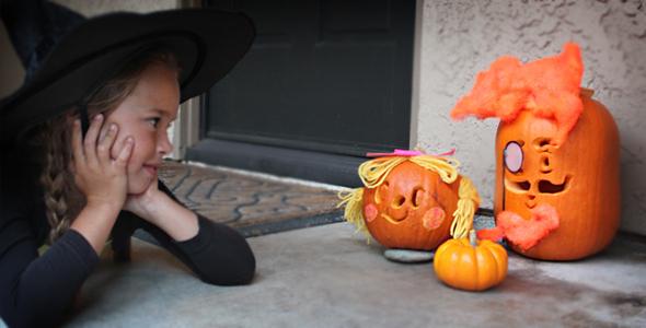 Candy Crush Jack o' Lantern Carving Printable!