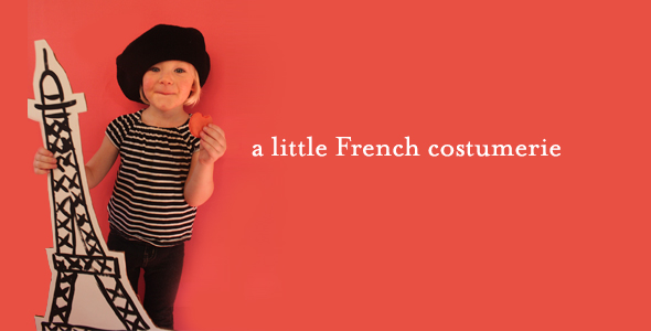 Kids' Halloween Costume Fun from Paris!