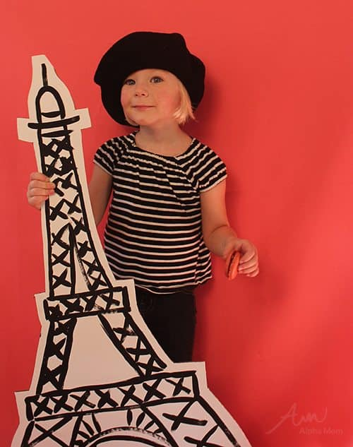 French Girl Kids Halloween Costume