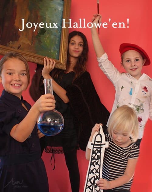 French-Inspired Kids' Halloween Costumes