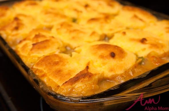 A Modernized, Gluten-Free Chicken Pot Pie (Sort Of)